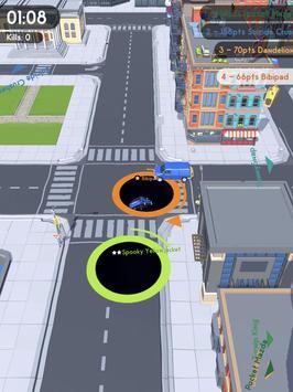 Hole.io captura de pantalla 6
