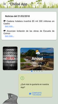 Chiloé App poster