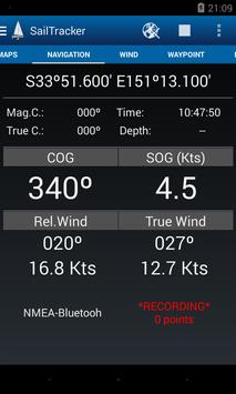 Sailtracker screenshot 1