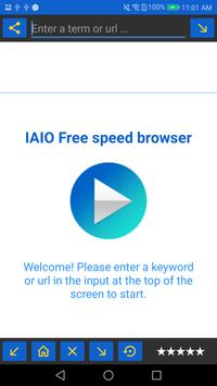 IAIO Free speed browser स्क्रीनशॉट 3