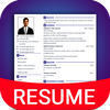 Resume Builder App Free CV maker CV templates 2021 아이콘
