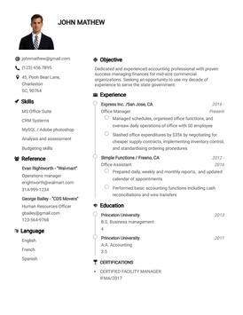 Resume Builder App Free CV maker CV templates 2021 screenshot 6
