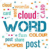 Word Cloud icon