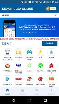 KEDAI PULSA ONLINE screenshot 1