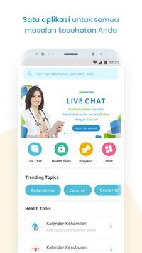 KlikDokter: Konsultasi gratis 24 jam dengan Dokter poster
