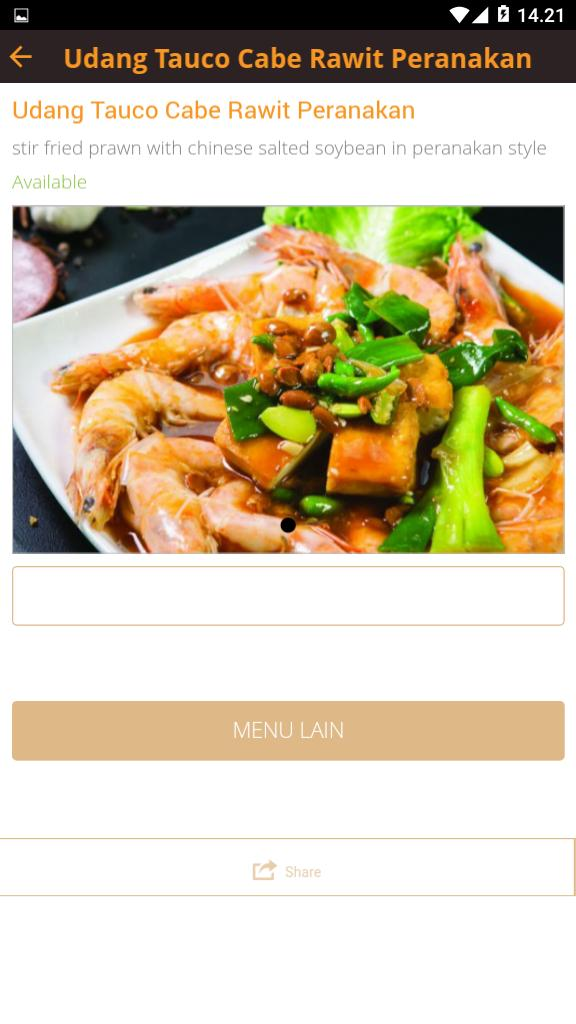 Dsteam Peranakan Seafood poster