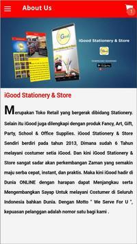 iGood Stationery & Store screenshot 5