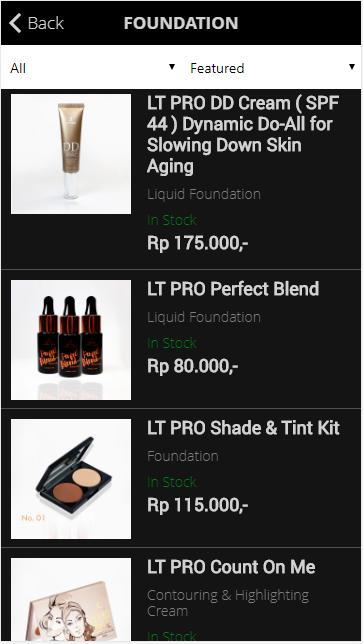 Unduh gratis LT PRO Professional Make Up