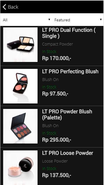 Download aplikasi hp samsung LT PRO Professional Make Up