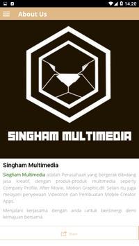 SINGHAM MULTIMEDIA screenshot 4