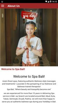 Spa Bali screenshot 2