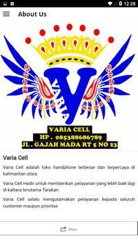 VARIA CELL screenshot 4