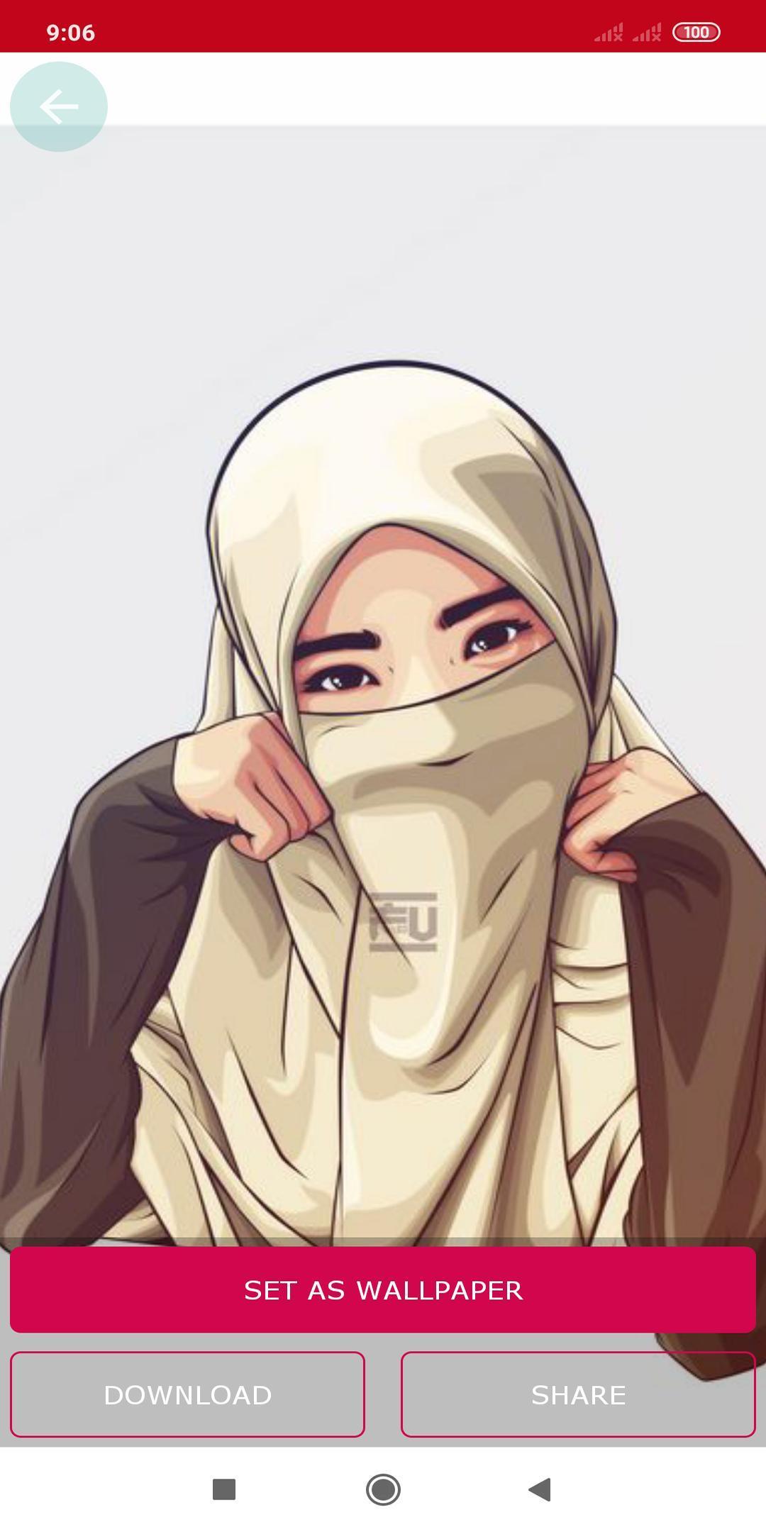 Kartun Muslimah Wallpaper HD For Android APK Download