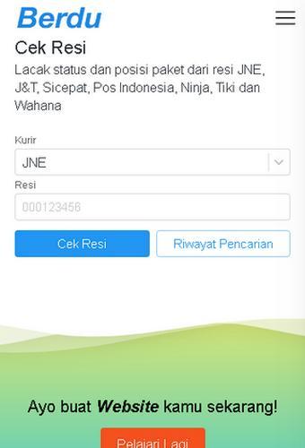 Berdu Cek Resi for Android - APK Download