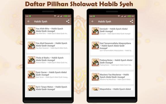 200+ Sholawat Habib Syech Offline & Online screenshot 1
