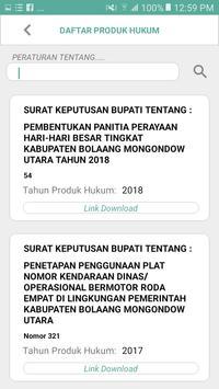 e-Tentatif int - Kabupaten Bolaang Mongondow Utara screenshot 3