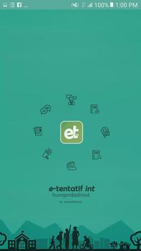 e-Tentatif int - Kabupaten Bolaang Mongondow Utara poster