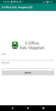 E-Office Kab. Magetan poster