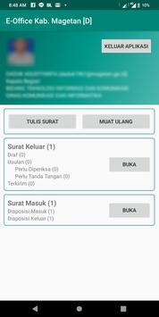 E-Office Kab. Magetan screenshot 1