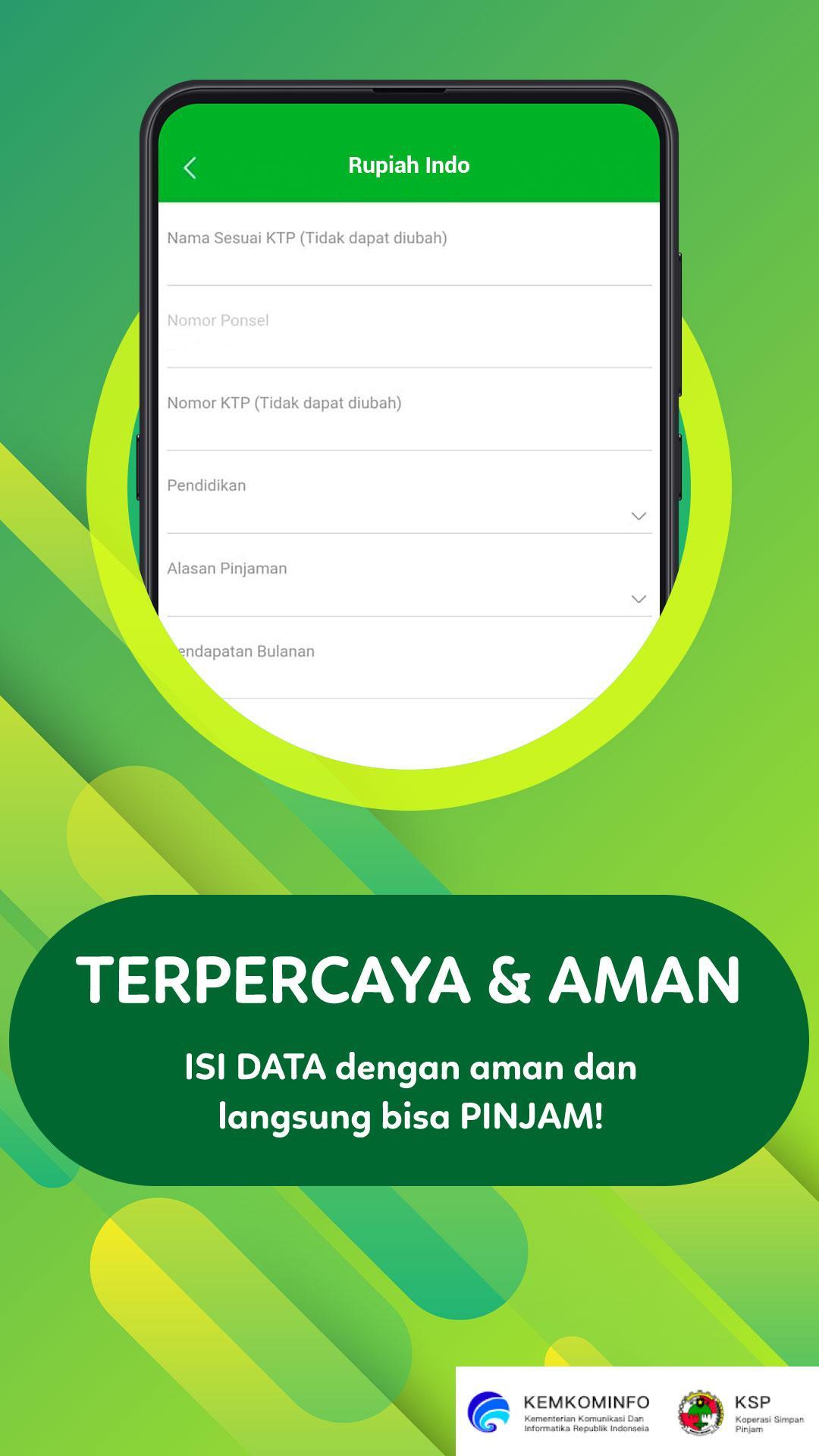 Image result for rupiah indo pinjaman