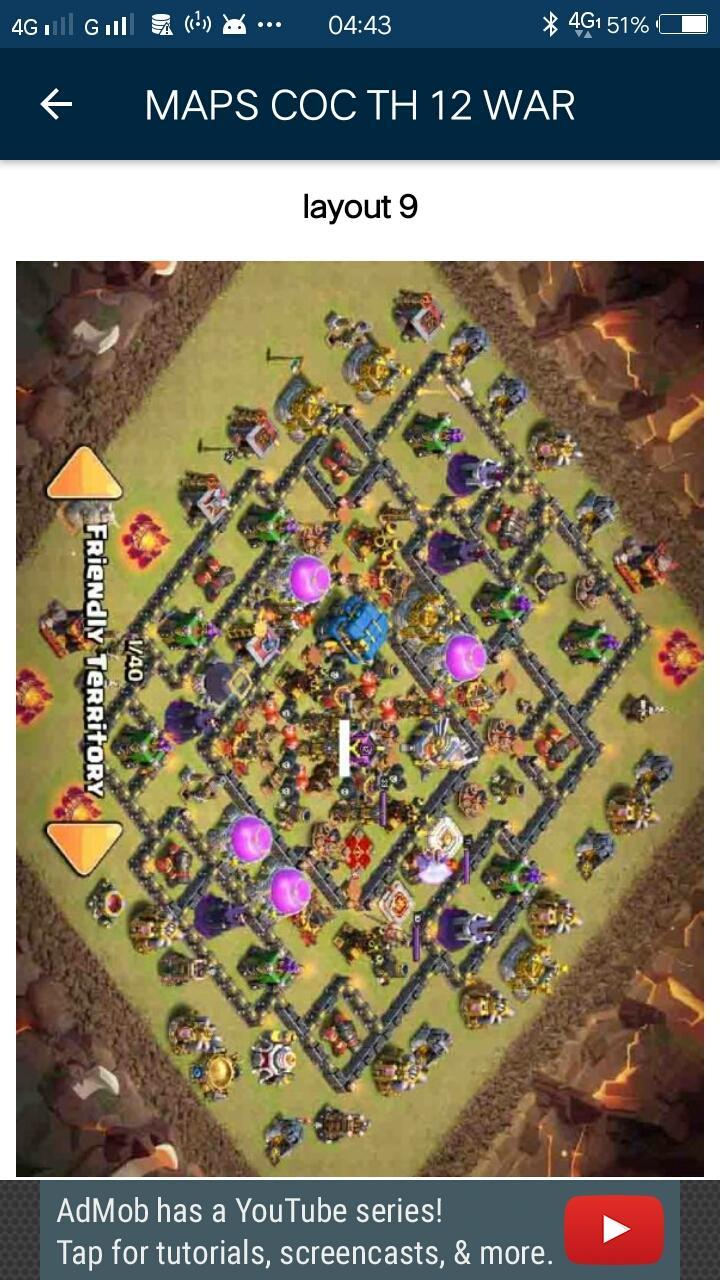 Base COC TH 12 New Update for Android - APK Download