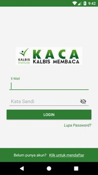 KACA (Kalbis Membaca) poster