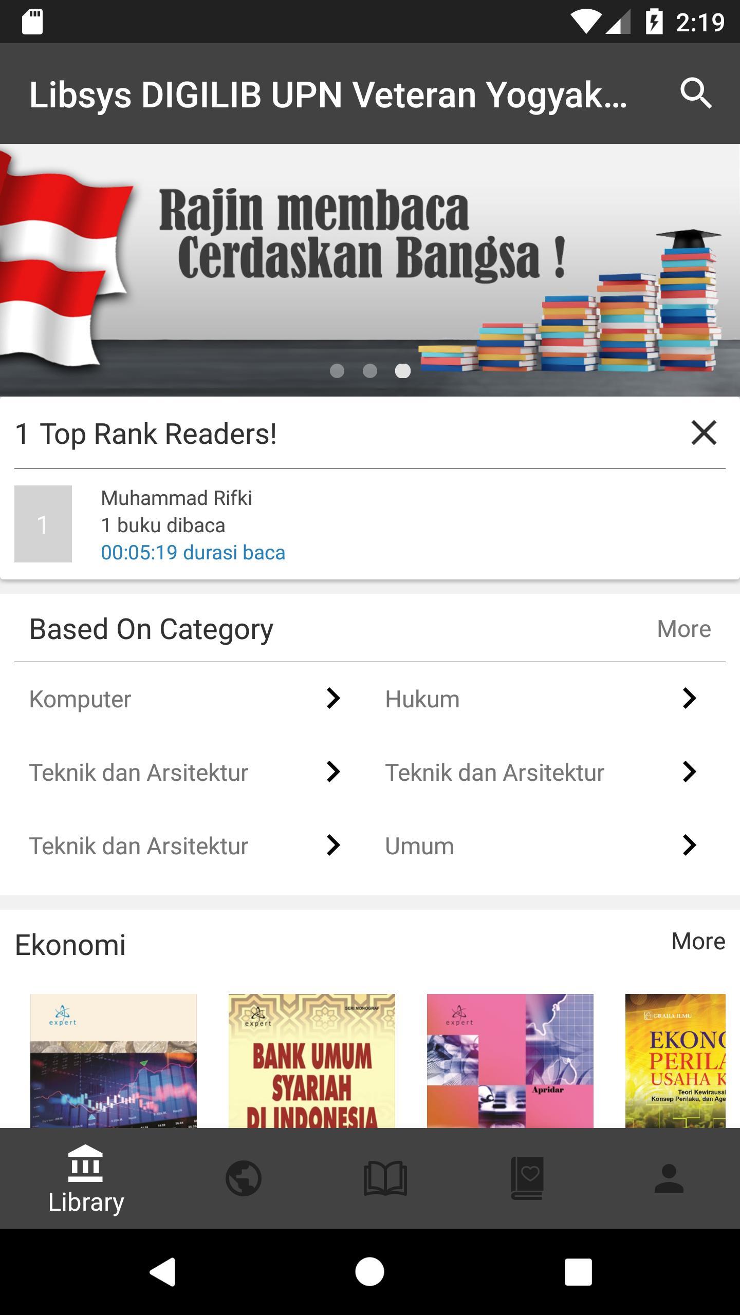 Libsys Digilib Upn Veteran Yogyakarta For Android Apk Download