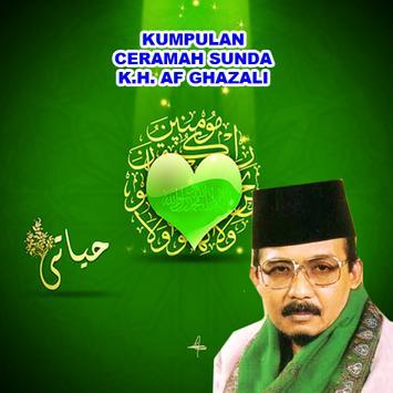 Ceramah Sunda KH. AF Ghazali पोस्टर