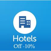 Hotele icon