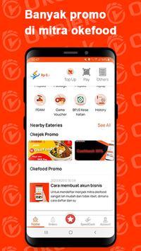OKEJEK - Ojek Online, Pesan Makanan & Belanja screenshot 3