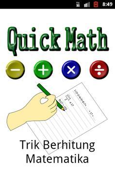 Quick Math poster