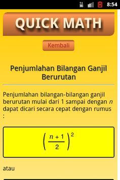 Quick Math screenshot 1