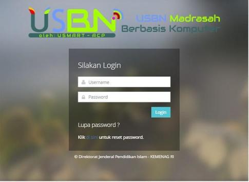 USBNBK Madrasah screenshot 2
