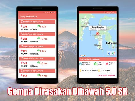 Info Gempa Indonesia Terkini screenshot 2