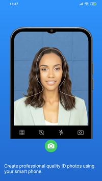 Passport Size Photo Maker - ID Photo Application poster