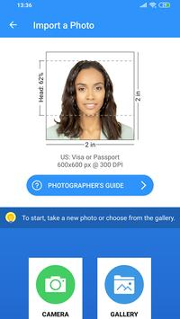 Passport Size Photo Maker - ID Photo Application screenshot 1