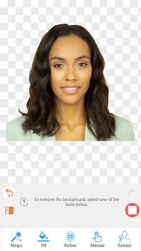 Passport Size Photo Maker - ID Photo Application screenshot 2