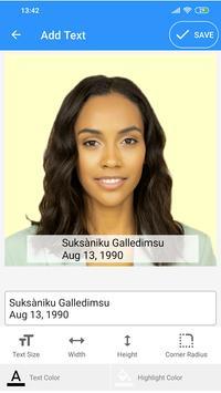 Passport Size Photo Maker - ID Photo Application screenshot 7