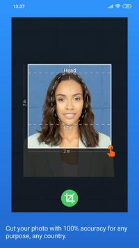 Passport Size Photo Maker - ID Photo Application screenshot 4