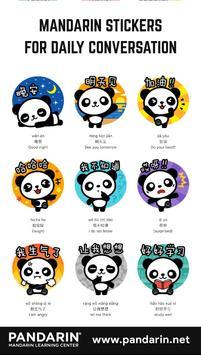 Pandarin WhatsApp Stickers screenshot 5