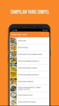 Resep Opor Ayam poster