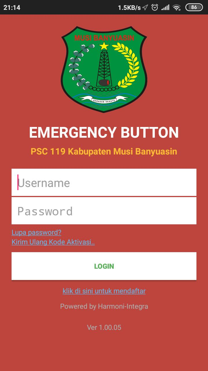 Psc 119 Kab Musi Banyuasin Emergency Button For Android Apk Download
