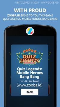 Quiz Legends: ML Heroes & Items screenshot 1