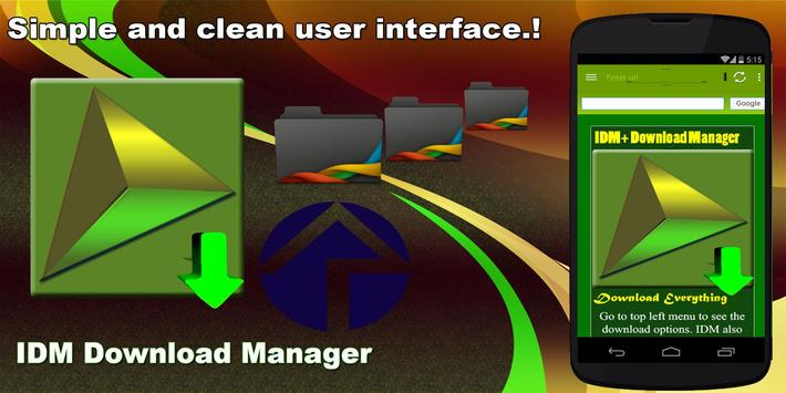 IDM Download Manager تصوير الشاشة 1