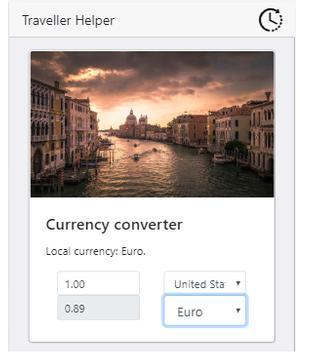 Traveller Helper - An awesome App for travelling! screenshot 3