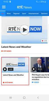 RTÉ News captura de pantalla 1