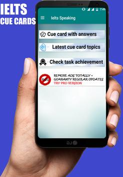 IELTS Cue cards screenshot 4