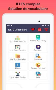 Vocabulaire IELTS capture d'écran 12