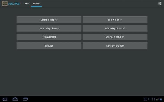 Tehillim captura de pantalla 9