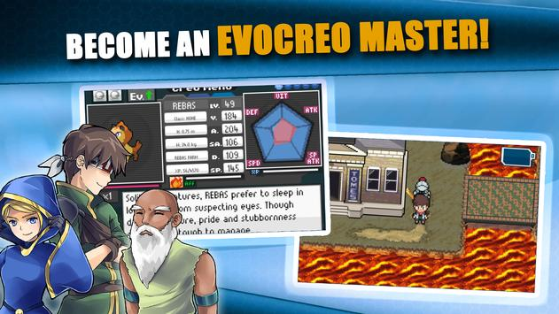 EvoCreo - Lite: Pocket Monster & Master Trainer screenshot 5